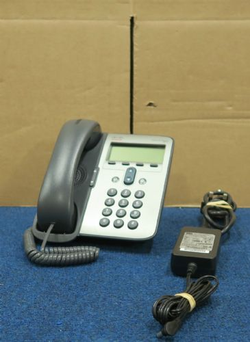 Cisco CP-7911G Unified VoIP IP Telephone Phone With CP-PWR-CUBE 3 - 68-3595-02